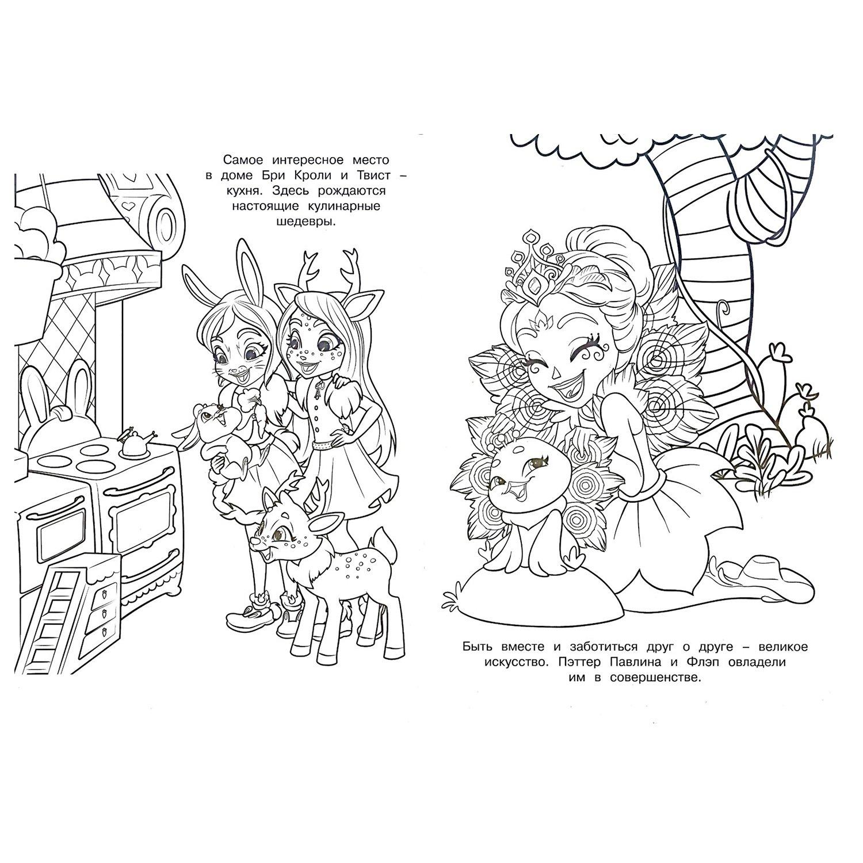 Купить Раскраска Эгмонт Enchantimals Волшебная - Кроки.рф