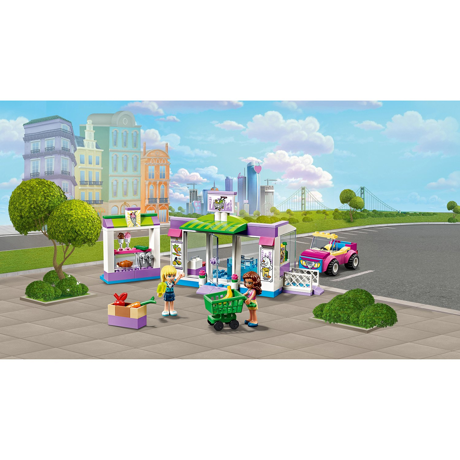 Lego Friends 41362 Супермаркет Хартлейк Сити